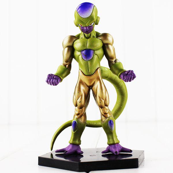 13cm Dragon Ball Frieza Goku Vegeta PVC Action Figure Collectable Model Toy for kids gift free shipping retail