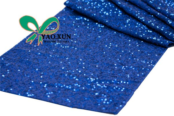 best selling Wholesale Price Sequin Table Runner \ Wedding Table Cloth Runner Decoration