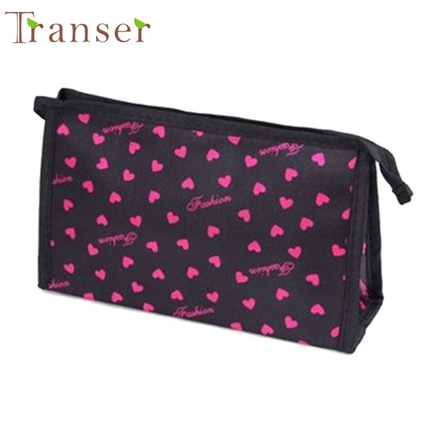 Wholesale- Transer New Fashion Professional Cosmetic Case Bag Large Capacity Portable Women Makeup cosmetic bags storage travel bags
