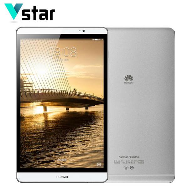 Großhandels- ursprünglicher 8.0 ZOLL Huawei Mediapad M2 Octa-Kern WIFI / LTE Metall-Telefonanruf-Tablette Kirin 930 32GB ROM 3GB RAM 8.0MP Multi Sprachen
