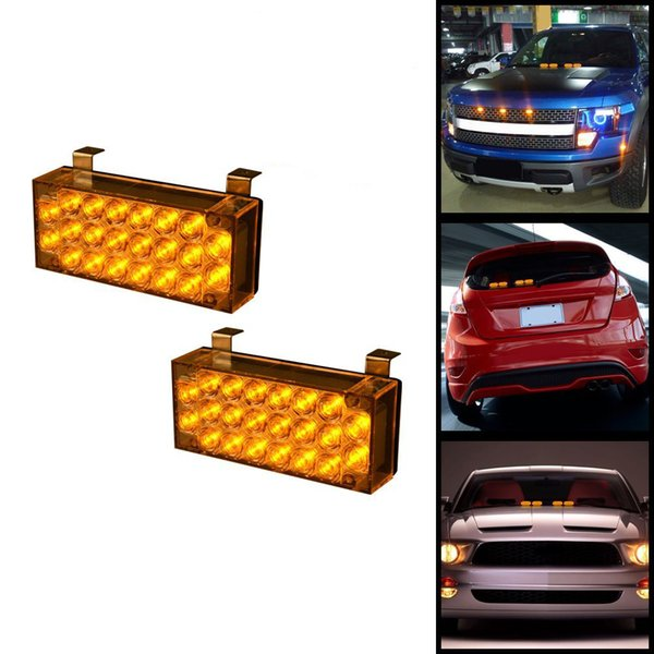 Vehicle Strobe Lights >> 2x22 Led Flasher Light Emergency Vehicle Strobe Lamp Bars With Mounting Bracket Control Module Led Vehicle Lights Led Vehicle Strobe Lights From