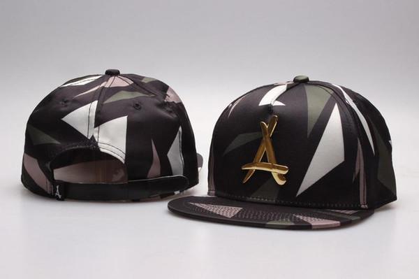 hot Brand New Adjustable Bone tha Alumni Snapback Caps Gold A Sport Hats Baseball Snap back Caps Free Shipping
