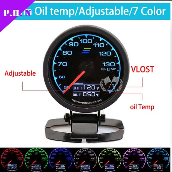 Greddy gauge 7 light colors lcd display 62mm boostoil pressure greddy gauge 7 light colors lcd display 62mm boostoil pressure oil temp sciox Choice Image
