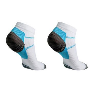 2pcs/pair Veins Socks Compression Socks With Spurs Arch Pain Unisex Cotton Thermoskin FXT Plantar Socks Foot Care Supplies CCA6572 200pair