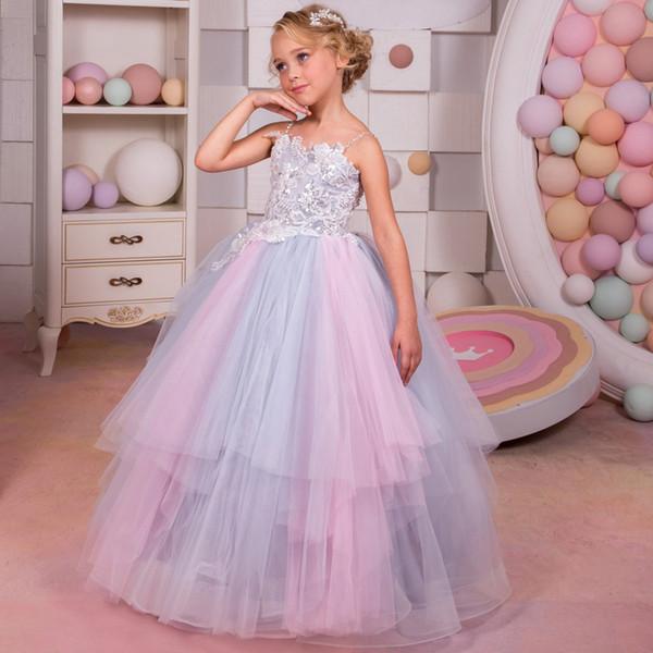 Rainbow Junior Bridesmaid Dresses
