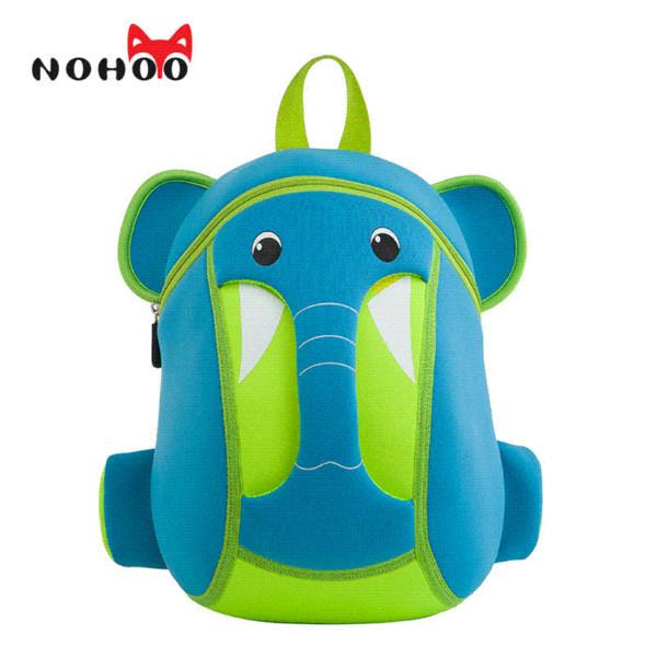 Nohoo Waterproof 3d Cartoon Children School Bags Neoprene Elephant ...