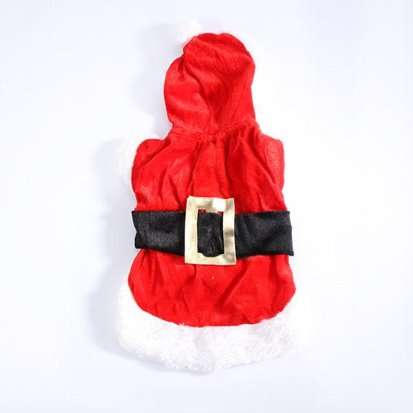 Clothes for Dog Costume Christmas Pet Clothes Winter Hoodie Coat Pet clothing/dress Pet/perrito Santa