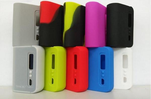Newest SMOK OSUB 80w Silicone Cases Colorful Rubber Sleeve Protective Cover Skin Enclosure for Smok Osub Plus TC 80w Vape Box Mod Kit
