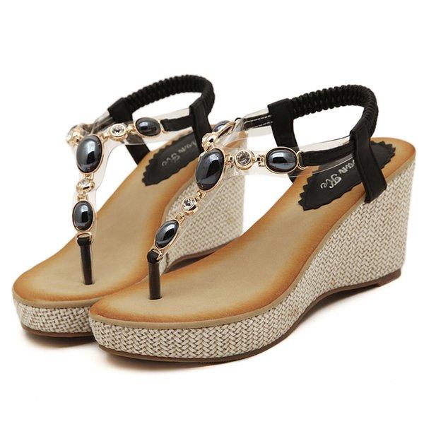 Zapatos Bohemia Sandalias Gladiador De Mujer Verano Mujeres 2017 Planos Las Del Compre OTkiuZXP