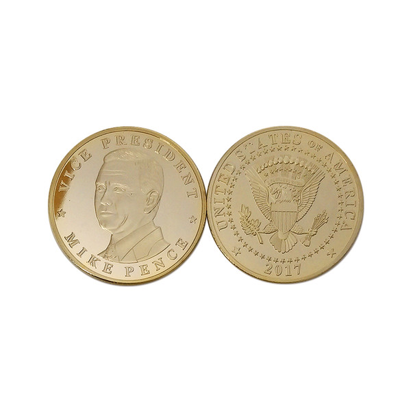 2019 2017 Vice President Mike Pence Of American Presidential Commemorative  Coin Trump'S Partner Novelty Coins Collectible Gifts From Yikunze, $36 58 |