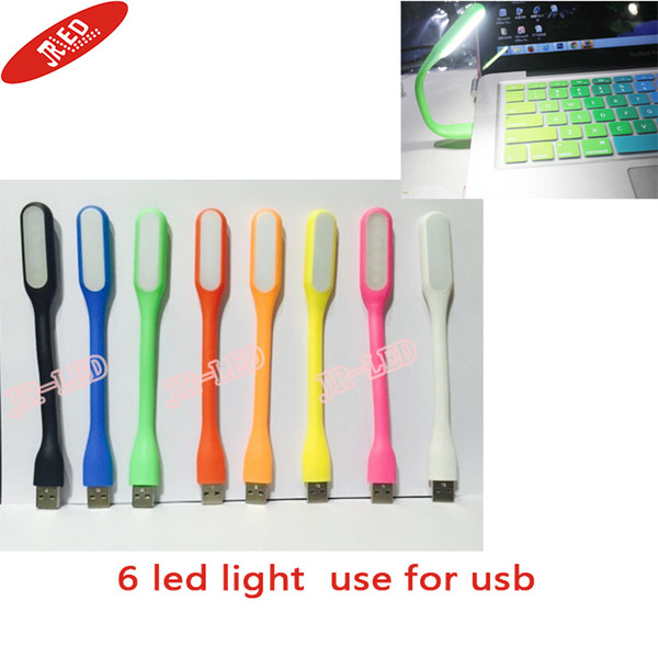 Wholesale- 2015 New fashion Xiaomi Flexible USB LED Lamp portable USB LED lights 5V For Power bank Computer Led Lamp hot sale