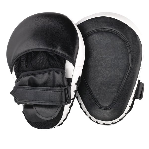 2Pcs /Lot Muay Thai Mma Boxing Gloves Sandbag Punch Pads Hand Target Focus Fitness Training Circular Mitts For Kick Fighting