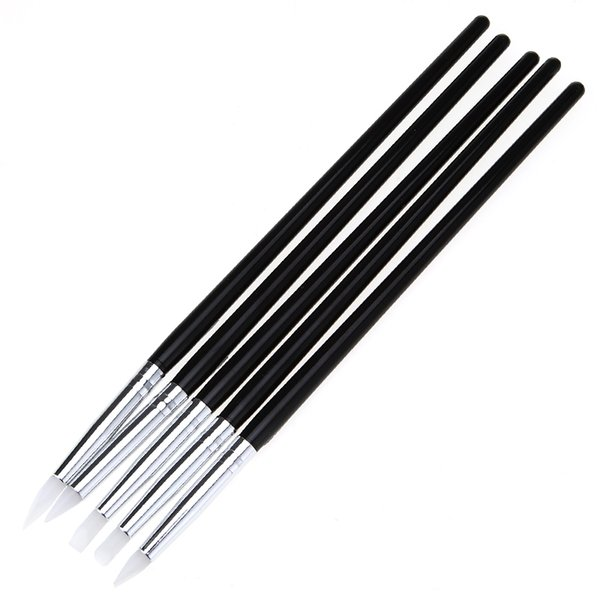 Wholesale- 2017 Nail Art Pen Brushes Craft Tools Modeling Sculpture Sculpting Carver Carving Tools brush for manicure gel nail kit