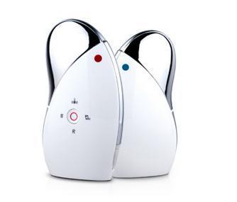 2017 hot importado facial massageador doméstico luz fria e fria vibrar para exportação ion acústico suave instrumento cosmético da pele rosto fino