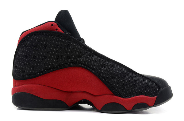 Wholesale discount 13 XIII bred black red MEN basketball shoes 13s sports shoes sneakers trainers high quality 2017 size 7-12