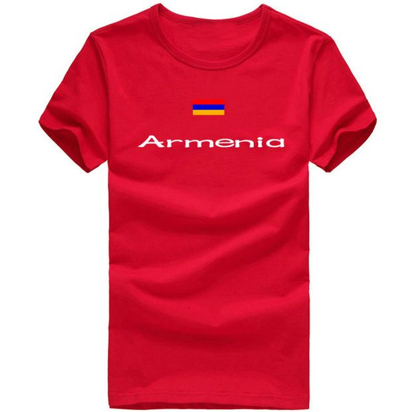Armenia T shirt Anti shrink sport short sleeve Quick dry tees Nation flag clothing Unisex cotton Tshirt