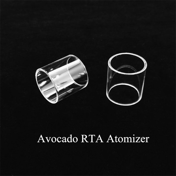 Wholesale Avocado RTA tank Replacement Glass Tube With DHL Free Shipping buy cheap Avocado RTA atomizer Pyrex glass tube