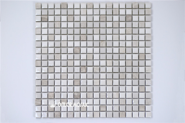 ceramic and marble mosaic tile for bathroom and kitchen decoration wall tile floor tile 4 square meters per lot CM1107