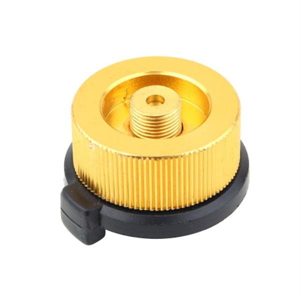 1 pc Outdoor Camping Stove Connector Burnerr Conversion Head Long Tank to Flat Tank Gas Bottle Adaptor