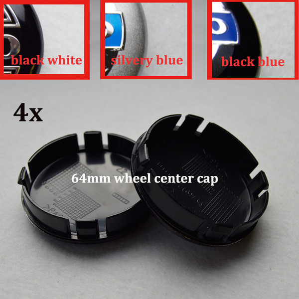 4pcs 64mm ABS car wheel center hub caps car emblem caps for VOLVO XC90 XC70 XC60 V40 V50 V60 V70 V90 S40 v50 auto badge car styling