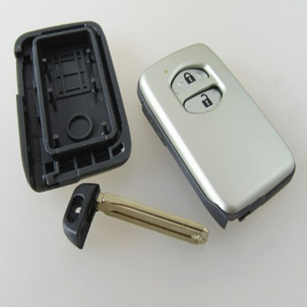 Replacement Shell Smart Remote Key Shell For Toyota camry Smart Key Card 2 Button 5PCS/LOT Free Shiping