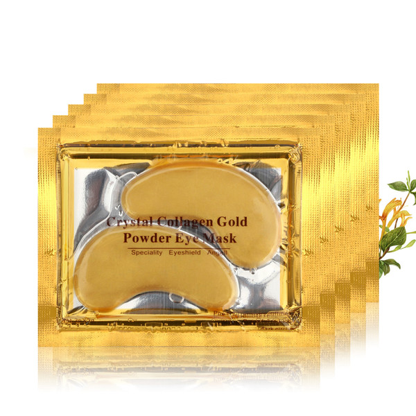 ROSOTENA DHL 10000 pçs / lote Máscara de Olho de Ouro Das Mulheres Remendo de Pálpebra De Cristal / Cristal De Colágeno Máscara de Olho Máscara de Ouro Círculo Escuro Anti-Envelhecimento