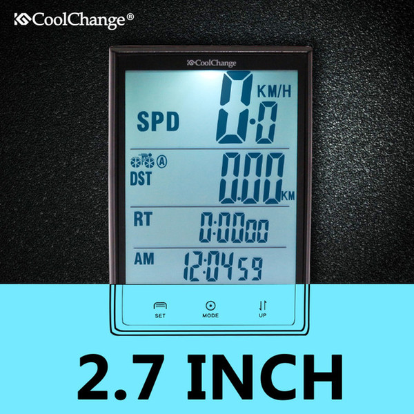 Wireless Bike Computer Speedometer Odometer Rainproof Cycling Bicycle Computer Bike Measurable temperature Stopwatch Mountain Bike Accessori