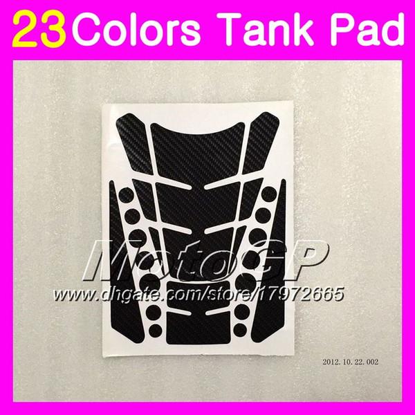 23 Renkler 3D Karbon Fiber Gaz Tank Pad Koruyucu SUZUKI Hayabusa GSX R1300 GSXR1300 13 14 15 16 16 2013 2014 2015 2016 3D Tank Cap Sticker