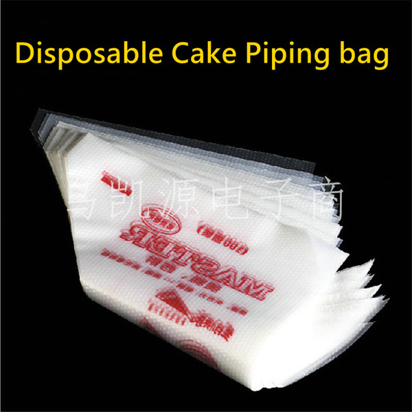 Wholesale- Free Shipping Thickened Disposable Cream Cake Icing Piping Decorating Bags and Pastry Bags of 100 Pieces