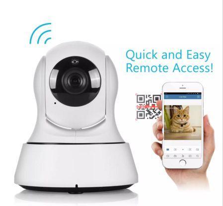 Monitoraggio senza fili del bambino della macchina fotografica del CCTV di visione notturna di Wifi 720P della macchina fotografica di sicurezza domestica del mini IP di sicurezza domestica Trasporto libero del DHL
