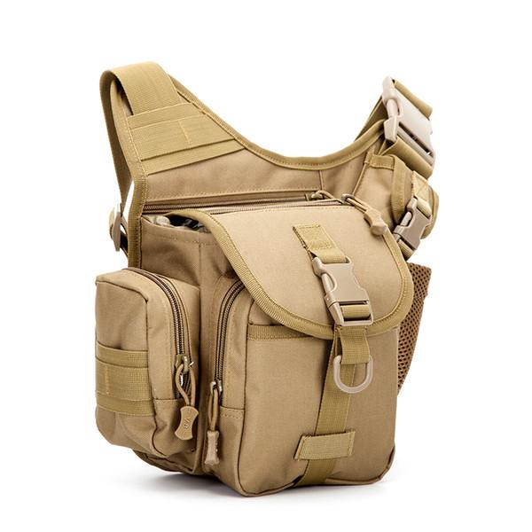 Wholesale- Mens Crossbody Leisure Shoulder Bags for men Multifunctional Travel Messenger Bag Men Water-resistant Nylon Pack Bag