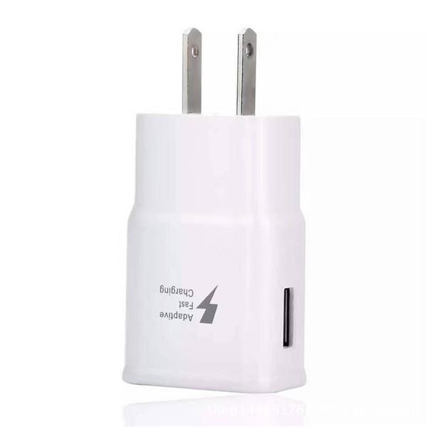 Per Samsung Galaxy S8 Note 8 S7 Adaptive caricabatterie da viaggio a ricarica rapida 9V 1.6A 5V 2A Cradle Design