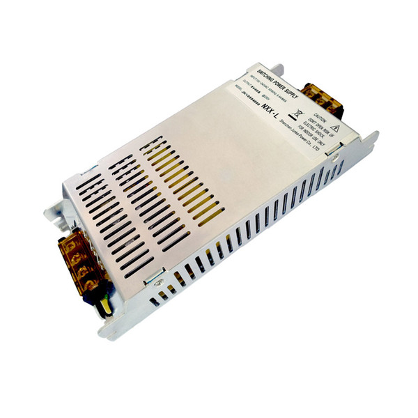 Transformador ultra fino Fuente de alimentación 5V 6A 8A 14A 18A 25A 40A para tira de LED 5v, CCTV