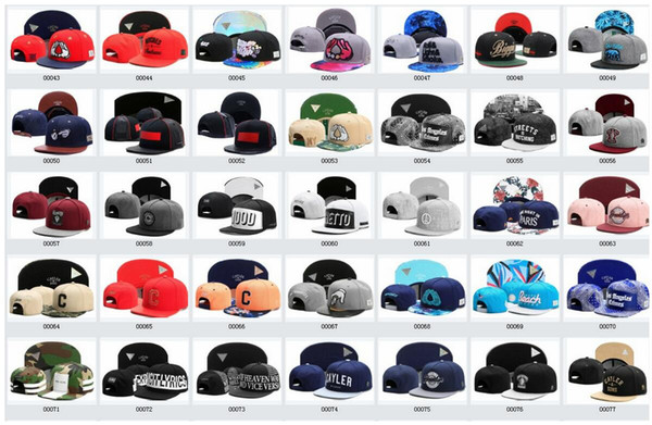 300 styles Brand Adjustable Cayler son snapback hats Bone Hiphop Snap back Snapback Baseball Sport hats Basketball Caps Hats For Men Woman