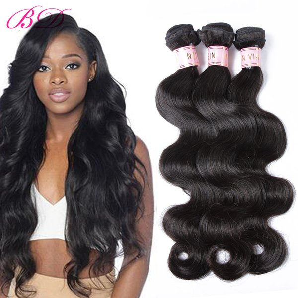 BD Body Wave Human Hair Weft Raw Indian Hair Weave Unprocessed Human Hair Weft 300/400G