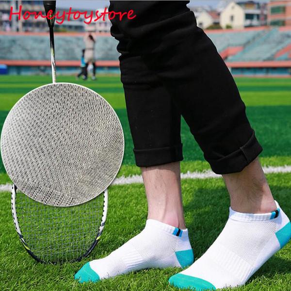 100pairs Hot sale Cotton Men socks men's short low cut crew socks mesh type Blends male casual Ship Short Ankle Socks