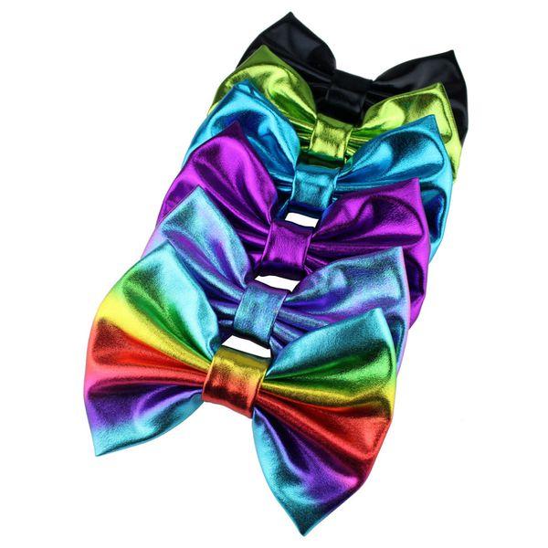 5'' Big Messy Metallic Glitter Bow Hair Clips For Children And Kids Hair bows Little Girls Headbands Hair Accessories 10pcs\