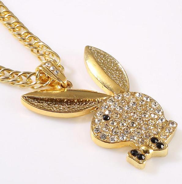Европа и Соединенные Штаты новая мода дикий кролик ожерелье кулон ожерелье