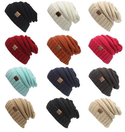 15423e3f0be CC Solid Ribbed Beanie Yourstyle USA Trendy Warm Chunky Soft Stretch Cable  Knit Slouchy Beanie Gifts