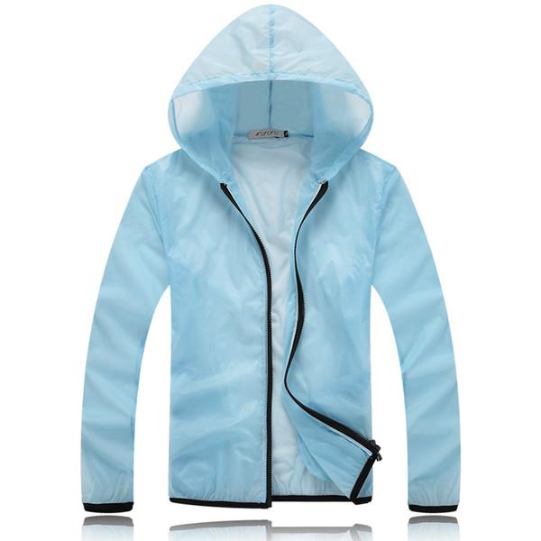 Ultradünne Belüftung Sweatshirts Mit Kapuze Rash Guards Coat Outdoor Casual Schnell trocknender Trenchcoat