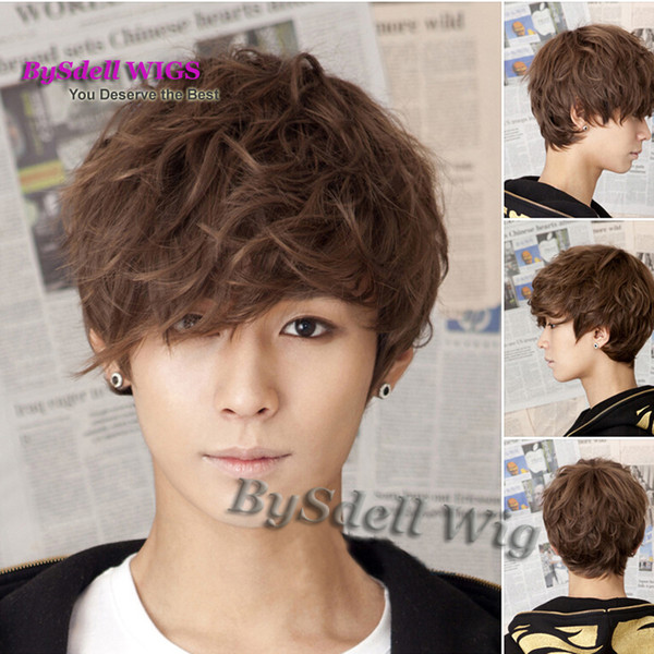 Stunning Synthetic Short Fluffy Curly Wig