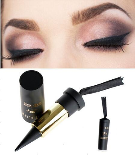 New High Quality Party Queen Smokey Eye Black Eye Liner Smooth Waterproof Cosmetic Makeup Eyeliner Pencil