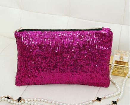 best selling Hot Selling!2014 Fashion Women's Clutch Sparkling Shoulder Bags Clutch Party Evening Bag Ladies Handbag Girls Crystal Bling Purse 5 Colors