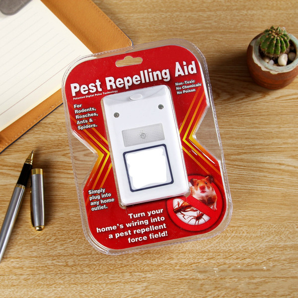 Practical Ultrasonic Pests Repeller Electromagnetic Pest Repelling Aid Repellent Device Anti Mosquito Mouse Insect Cockroach Control 4 5rs R