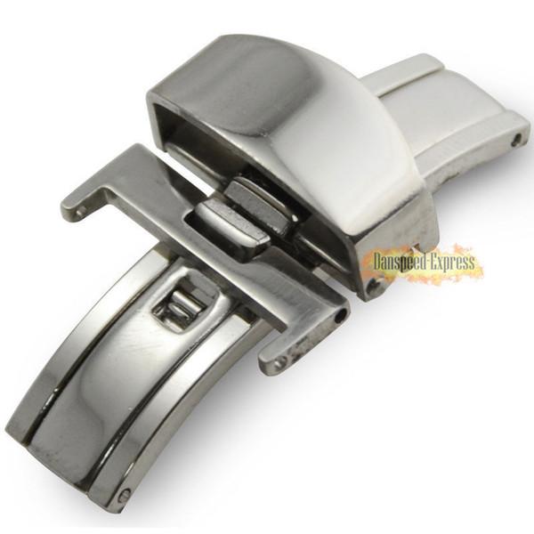 Cinturini per cinturini per orologi con fibbia a fibbia in acciaio inossidabile a caldo in acciaio inossidabile 16/18 / 20mm