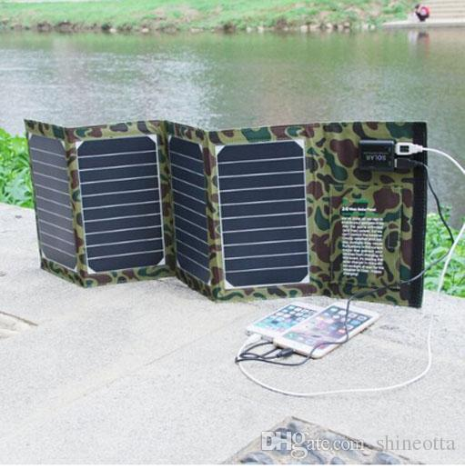 20w Portable Foldable Solar Panel Charger Solar Phone