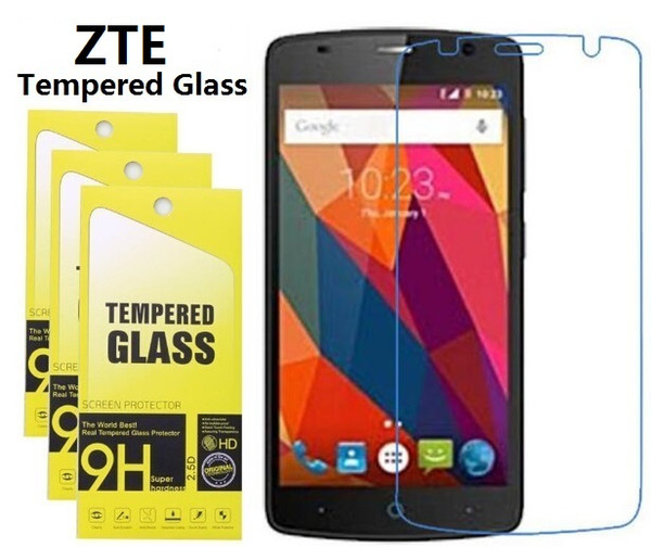 Tempered Glass Screen Protector For ZTE Nubia Z11 MiniS Z17 L2 Plus L3 L4 L5 Plus Grand X3 Grand X4 With Retail Package