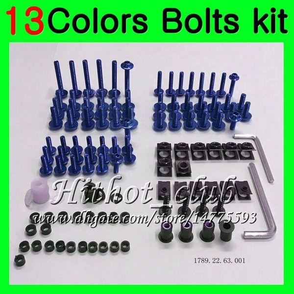 Fairing bolts full screw kit For HONDA CBR250RR 90 91 92 93 94 MC22 CBR 250RR 1990 1991 1992 93 1994 Body Nuts screws nut bolt kit 13Colors