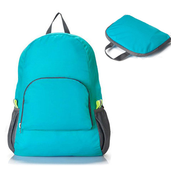 Wholesale- 2015 Hot Sale Travel Bag Folding Capacity Mountaineering Backpack Admission Package Student School Backpack Bags High Quality