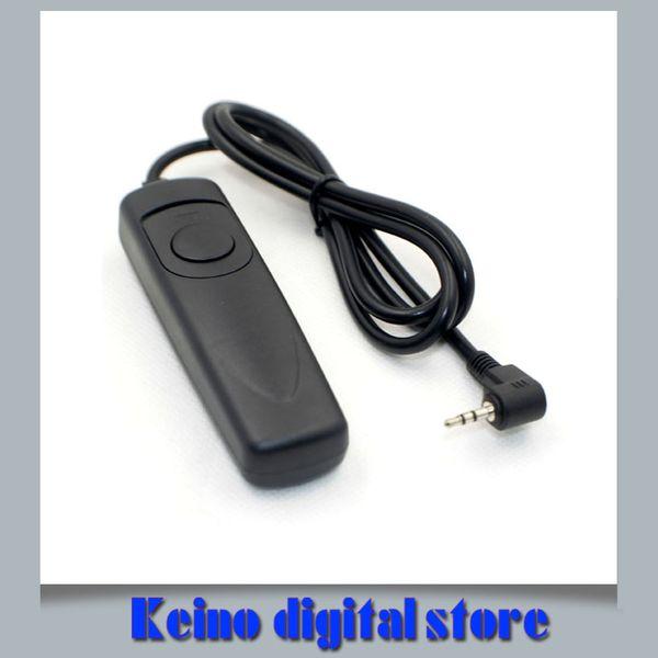 Wholesale- RS-60 E3 Camera Remote Control Shutter Release Switch for SX50 SX60 HS T3i 60D 70D 550D 600D 650D 750D G12 G15 G16 G1X Mark II